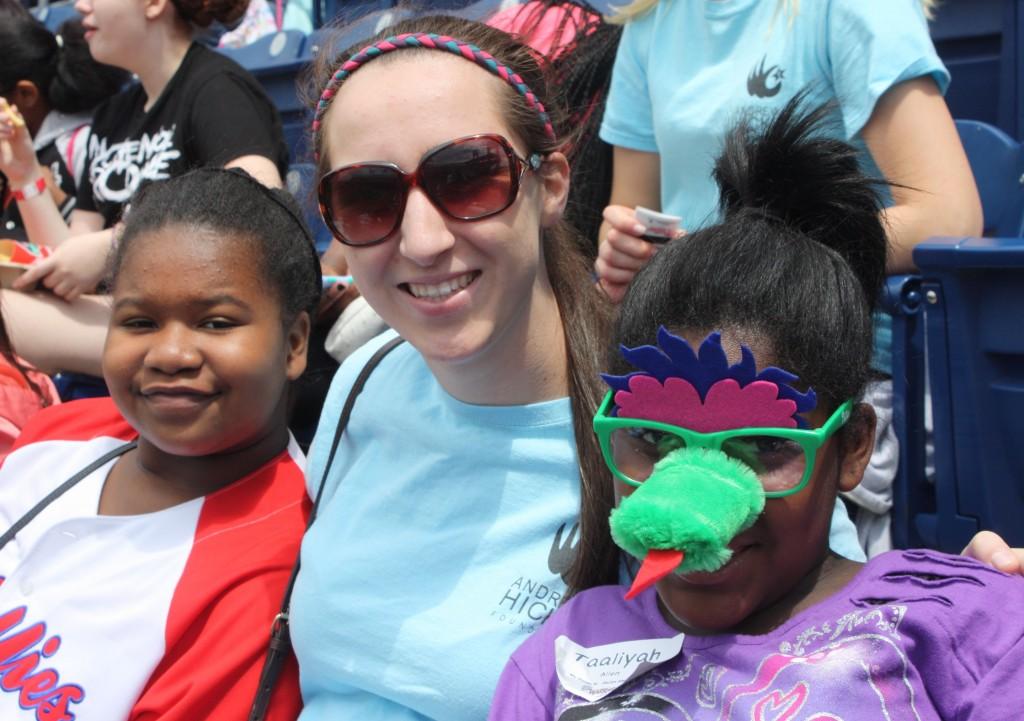 Lauren and two