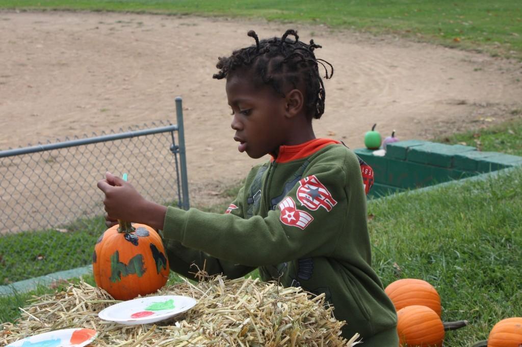 camo pumpkin