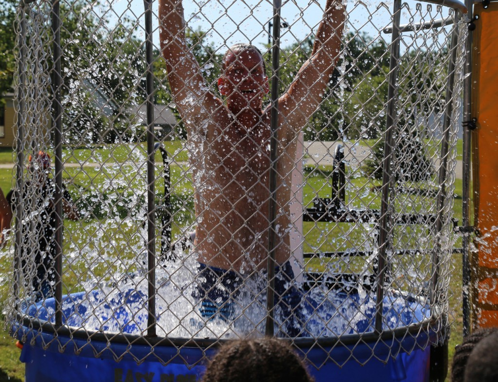 andy dunk tank