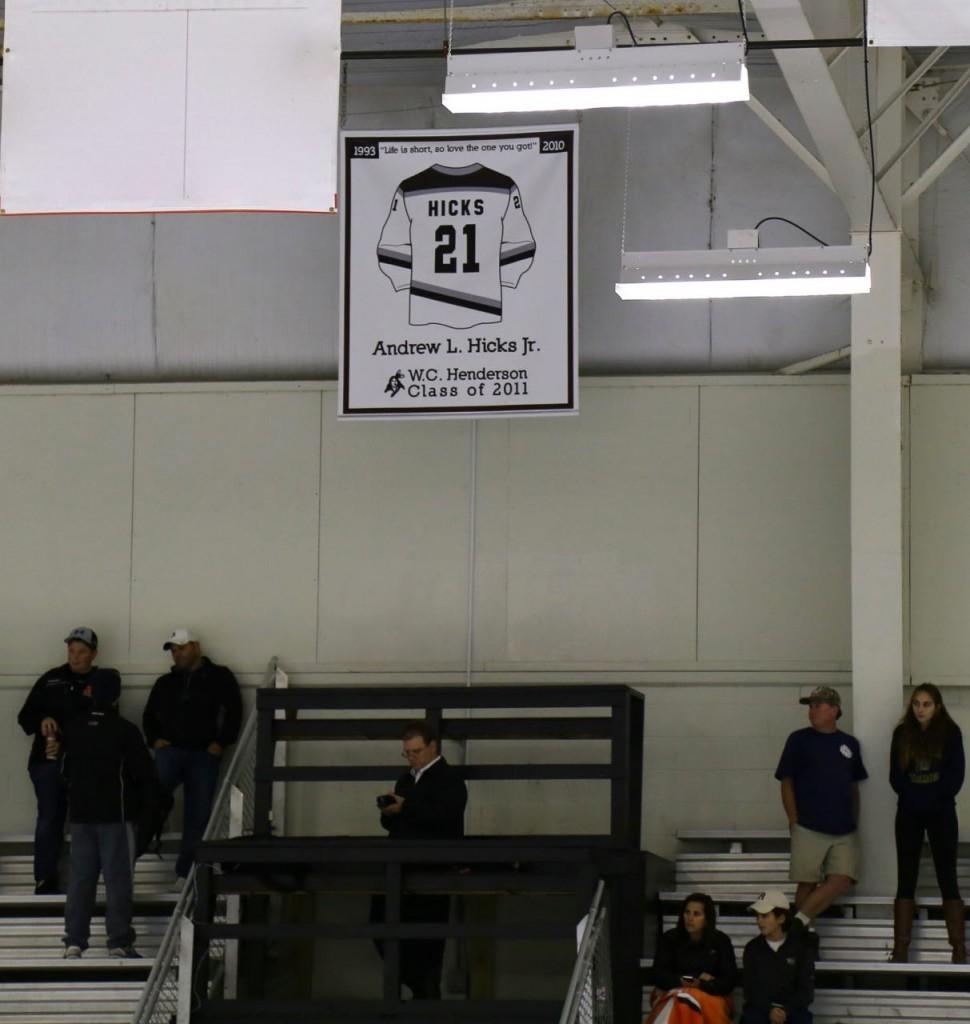 Andrew's banner