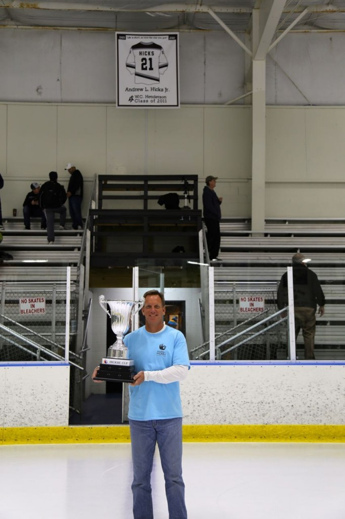 Andy and the cup