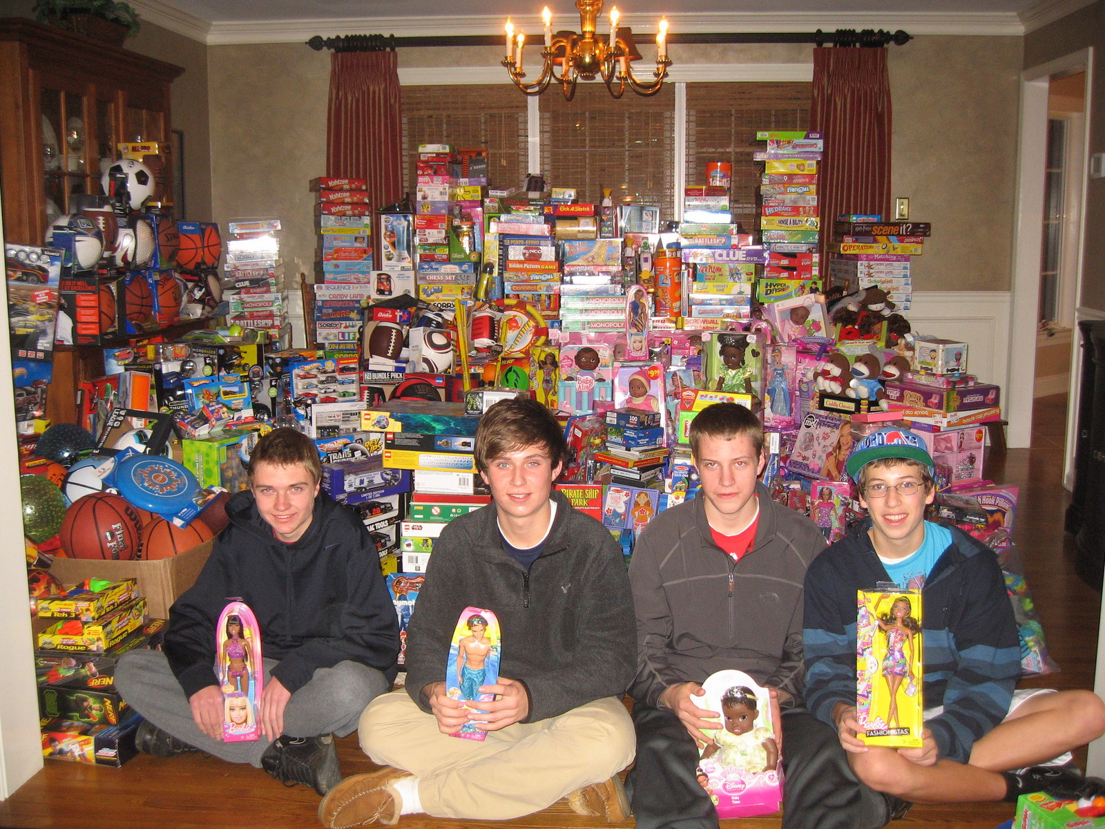 Toys For Ages 10 And Up : Andrew l hicks jr foundation christmas toy store