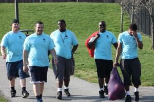football volunteers