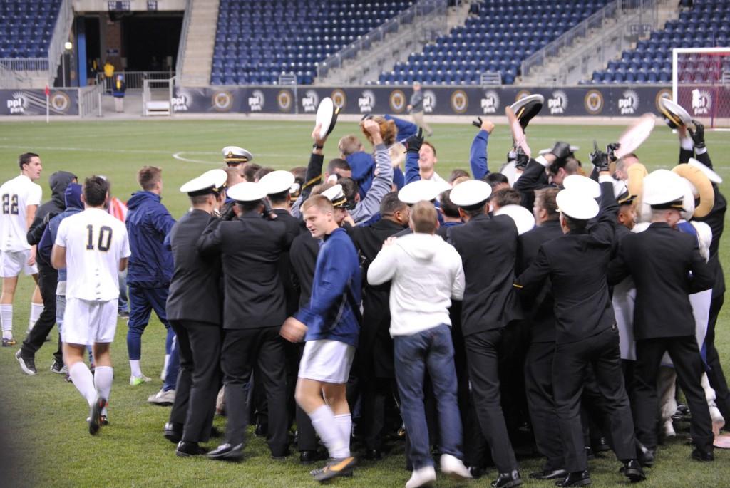 navy win