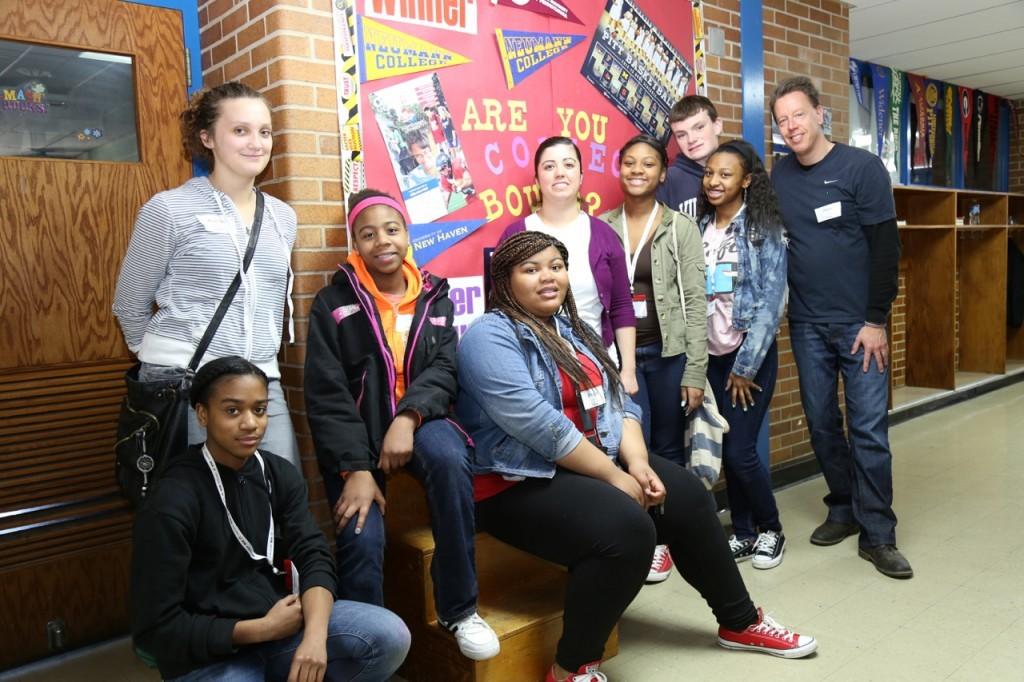 8th grade hallway