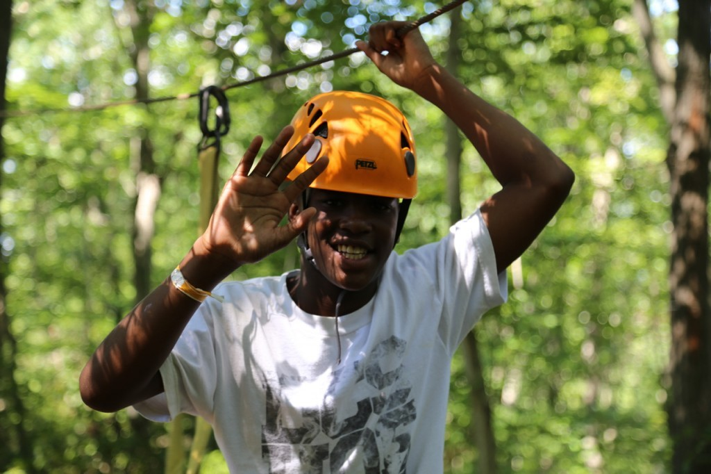 cyncere on high ropes