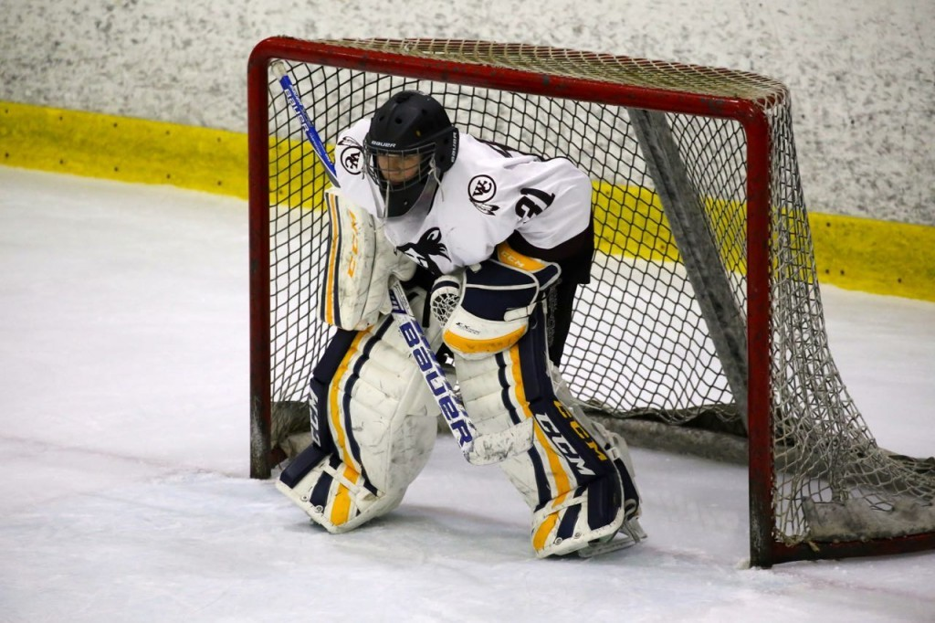 HHS goalie