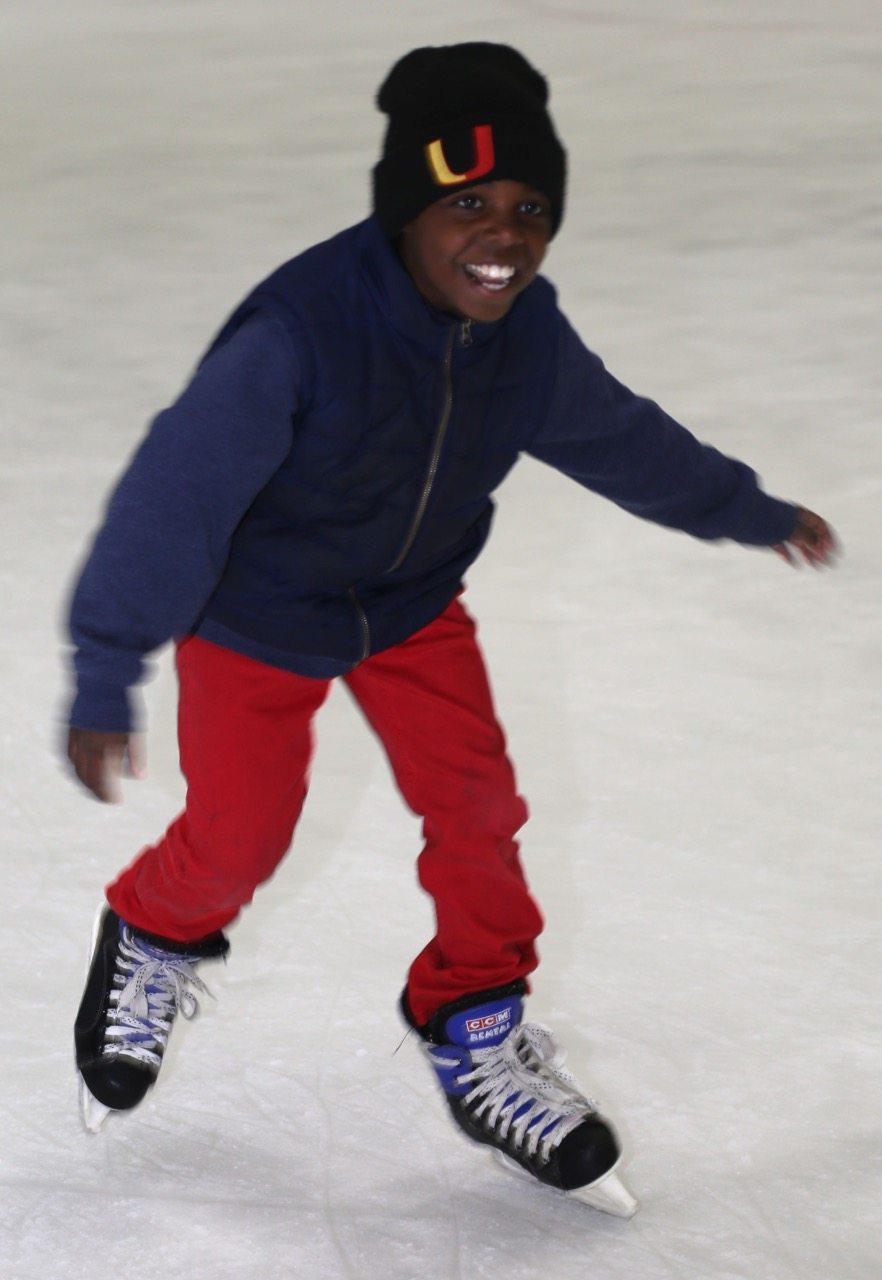 crazy happy skater